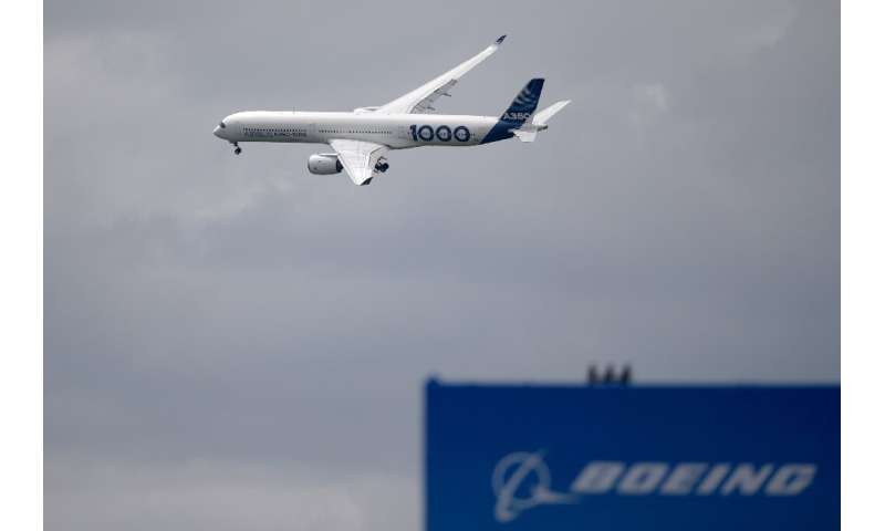 Airbus' net profit surged in the first half of 2019, while rival Boeing reported its biggest-ever quarterly loss in the three mo