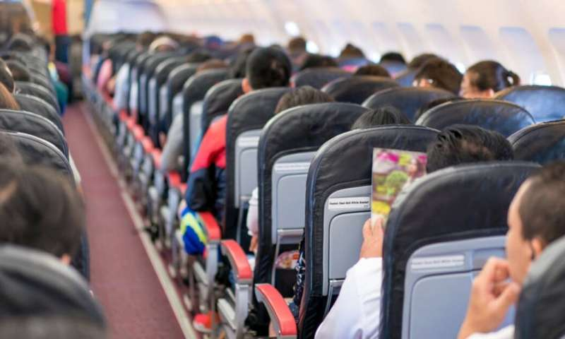 Air travel spreads infections globally, but health advice from inflight magazines can limit that