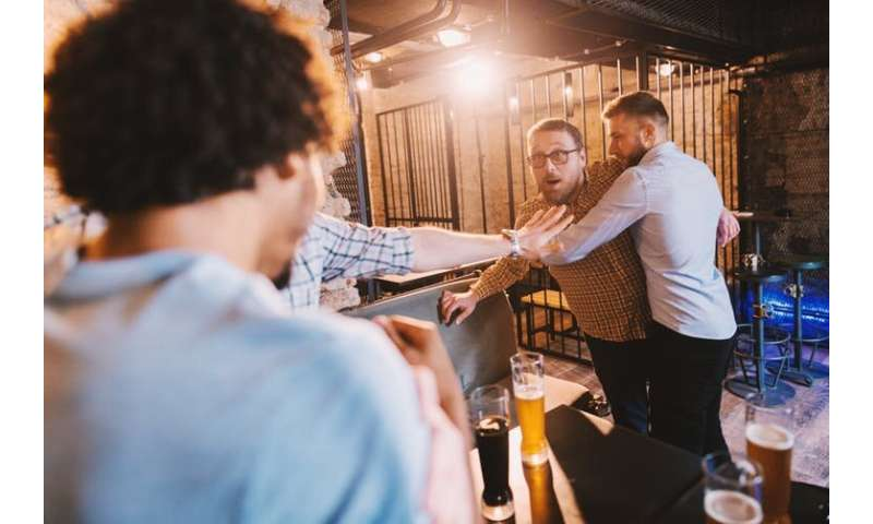 Alcohol really is no excuse for bad behaviour – research reveals you're still the same person after a drink