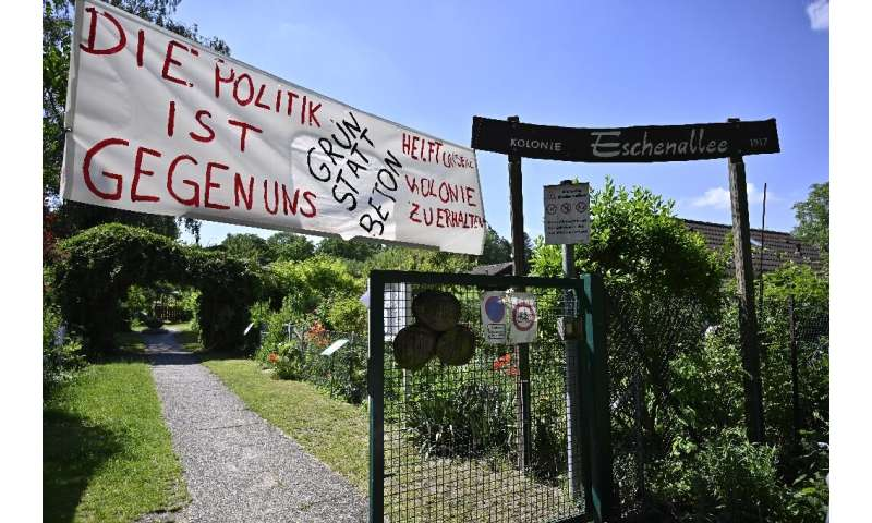 Allotments in Berlin, known as Schrebergaerten, have been around for 150 years and, in the industrial revolution, helped fight m