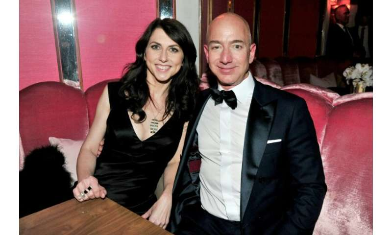 Amazon CEO Jeff Bezos and his wife MacKenzie Bezos are in divorce proceedings, raising questions about control of the company va