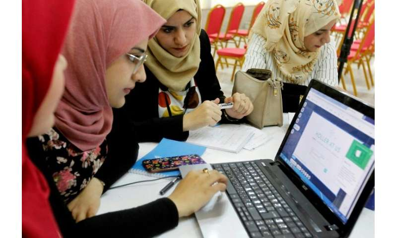 Among Iraqi youth, 17 percent of men and 27 percent of women are unemployed, according to the World Bank