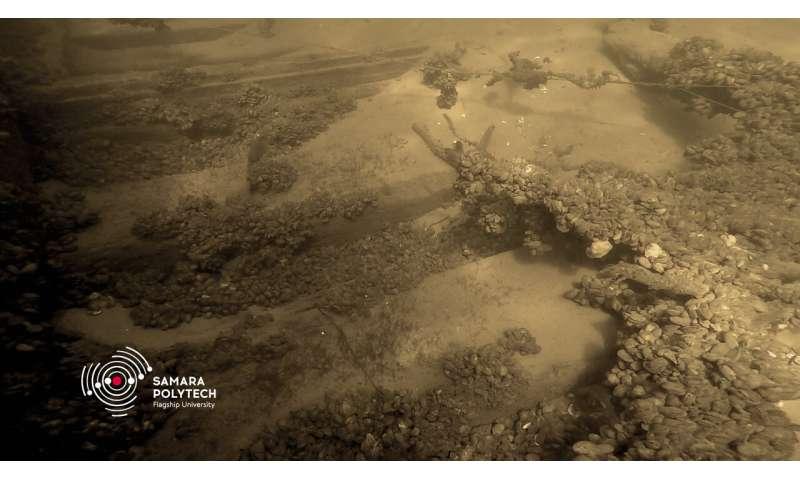 An ancient boat was found near Samara