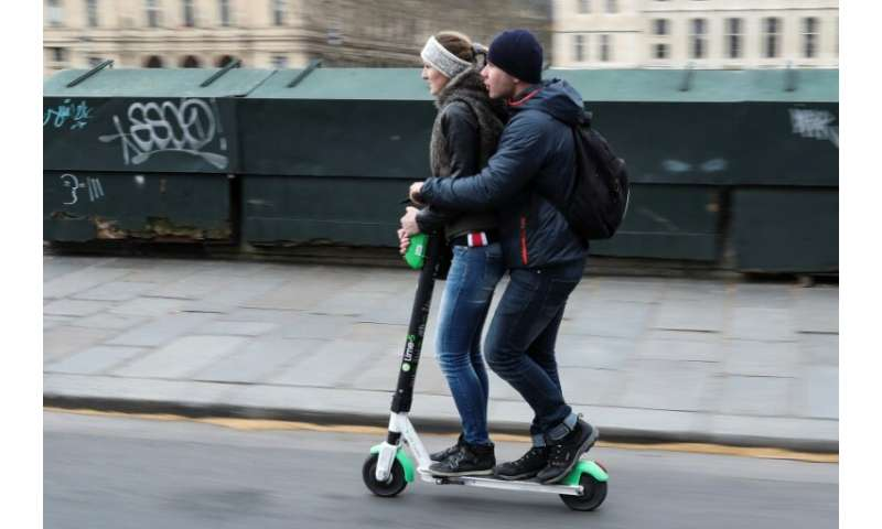 An estimated 15,000 scooters operated by several companies have flooded the French capital since their introduction last year