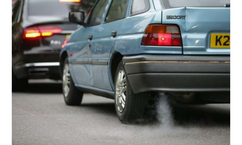 A new pollution charge will hit older vehicles travelling in central London