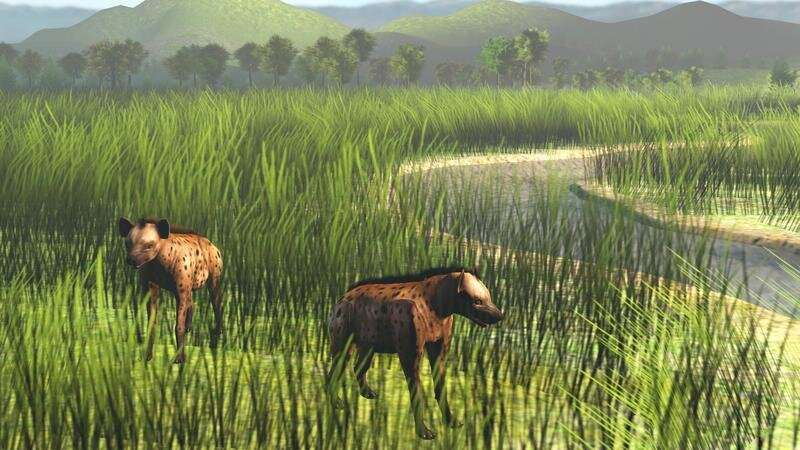 An Ice Age savannah corridor let large mammals spread across Southeast Asia