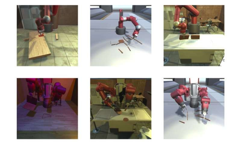 An IKEA furniture assembly environment to train robots on complex manipulation tasks