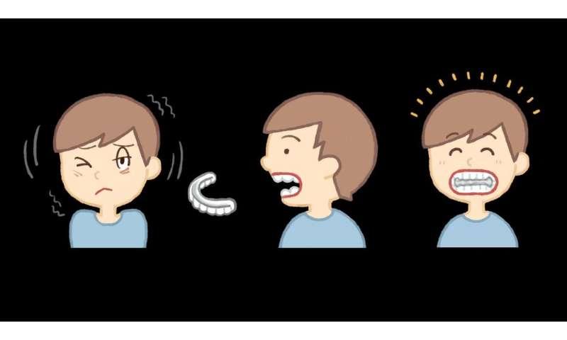 An oral splint that can reduce Tourette syndrome tics