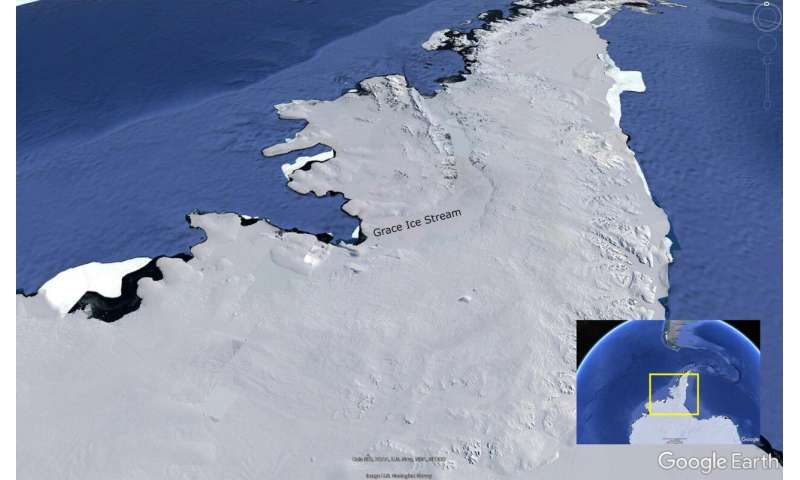 Antarctic glacier named after GFZ satellite mission 'GRACE'