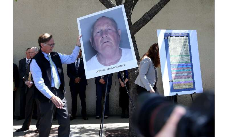 "A photo of Joseph James DeAngelo, accused of being the ""Golden State Killer"""
