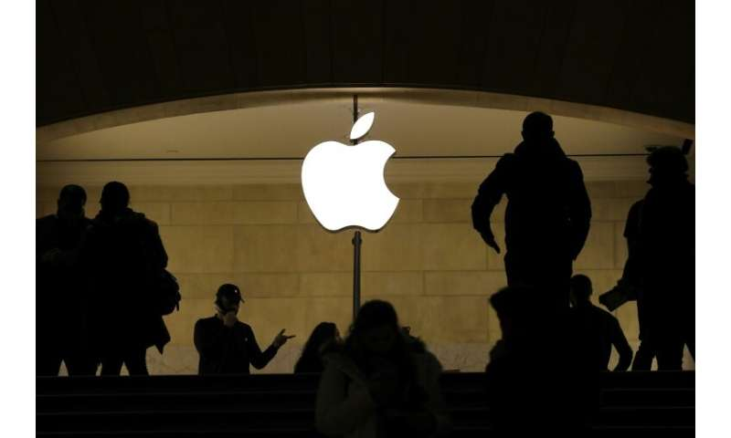Apple met its recently lowered guidance for the most recent quarter, sparking a rally in after-hours trade