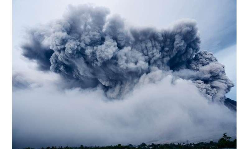 ash volcano