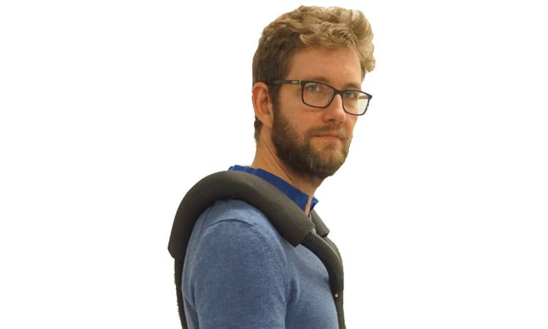 A smart soft orthosis for a stronger back
