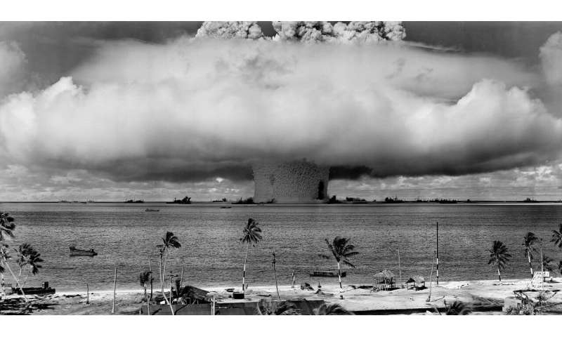 Atom bomb tests used to age the immune system