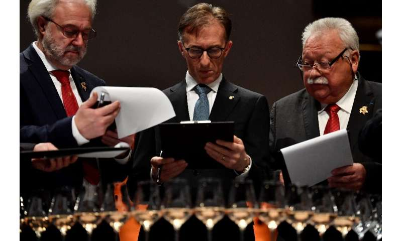 At the finals of the world's best sommelier competition in Antwerp in March, Almert became the 16th winner in its five-decade hi