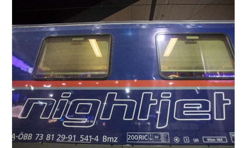 Austrian state rail operator OeBB says ticket sales for its night services are on the increase