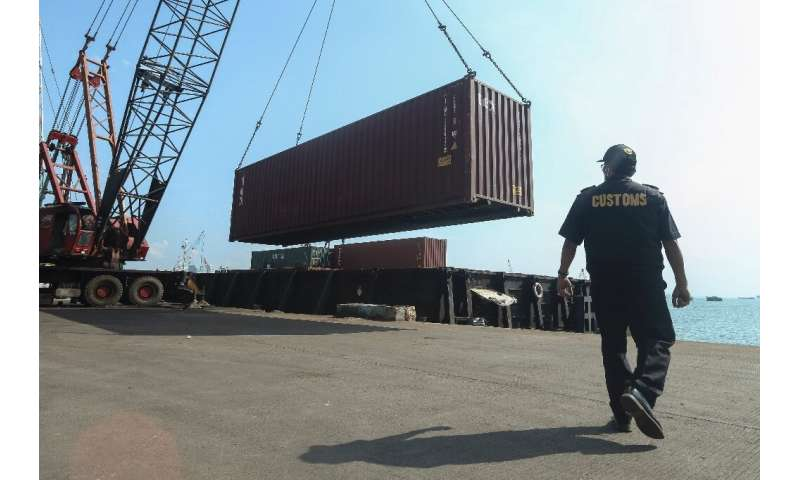 Authorities are waiting for clearance to return another 42 containers of waste at the port, including shipments from the United