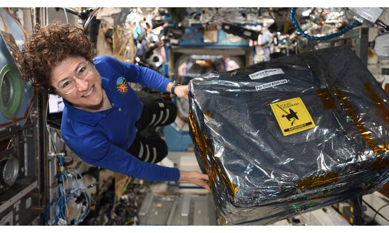 A warm space station welcome for cool new hardware
