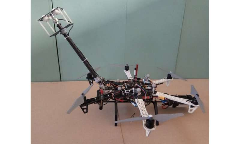 A 'worker' that flies: Chinese researchers design novel flying robot