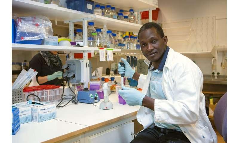 Bacteria in pneumonia attack using bleaching agent