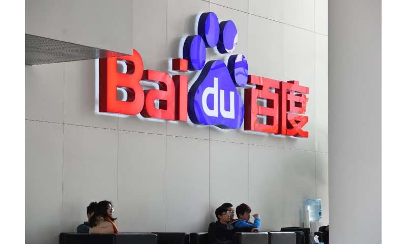 Baidu shares soared 10 percent in after-hours trading on New York's Nasdaq following the release of the results