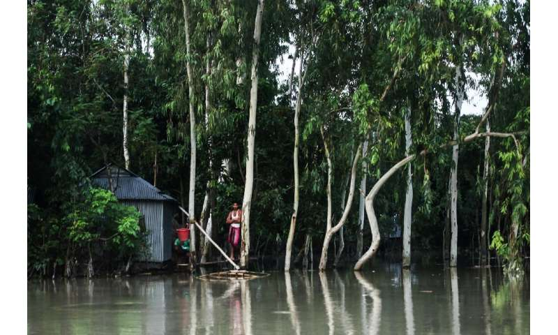 Bangladesh's Flood Forecasting and Warning Centre said at least 26 of the country's 64 districts have been flooded