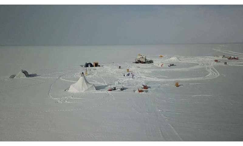 Barrels of ancient Antarctic air aim to track history of rare gas