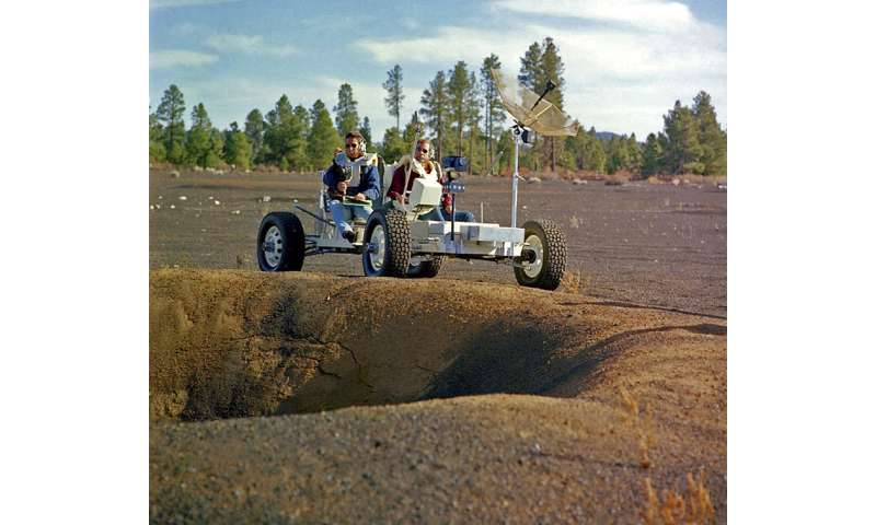 Before moon landing, astronauts learned geology in Arizona