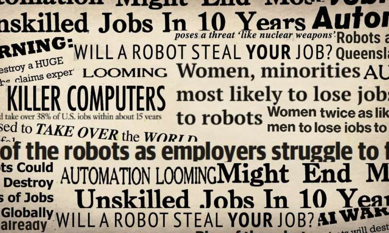 Behind those headlines—don't believe claims robots threaten half our jobs