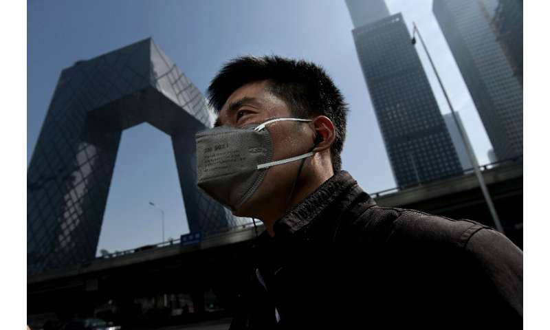 Beijing is on track to reduce its PM2.5 air pollution, but levels are still four times higher than those recommended by the Worl