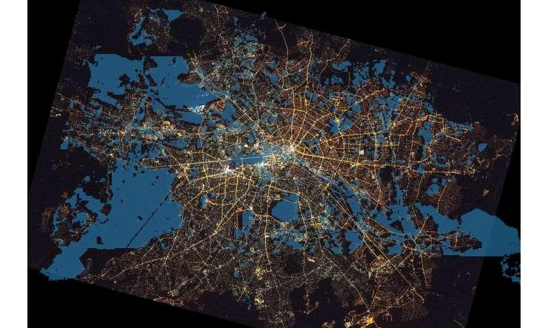 Berlin's bright sky isn't a bat's thing