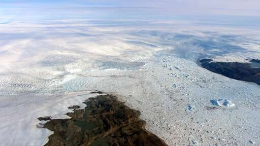Big U-turn:  Key melting Greenland glacier is growing again