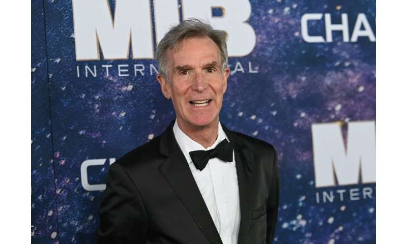 """Bill Nye, a beloved science communicator known in the US as """"Science Guy"""""""