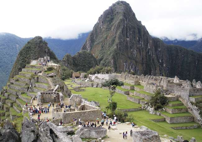 Biocolonizer species are putting the conservation of the granite at Machu Picchu at risk