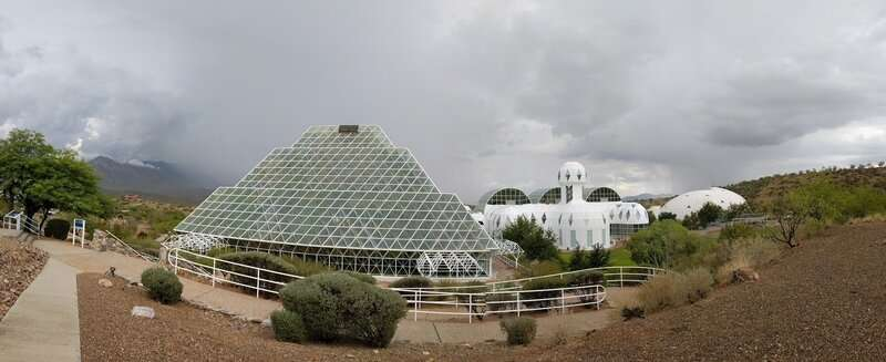 Biosphere 2 rainforest closed during drought experiment