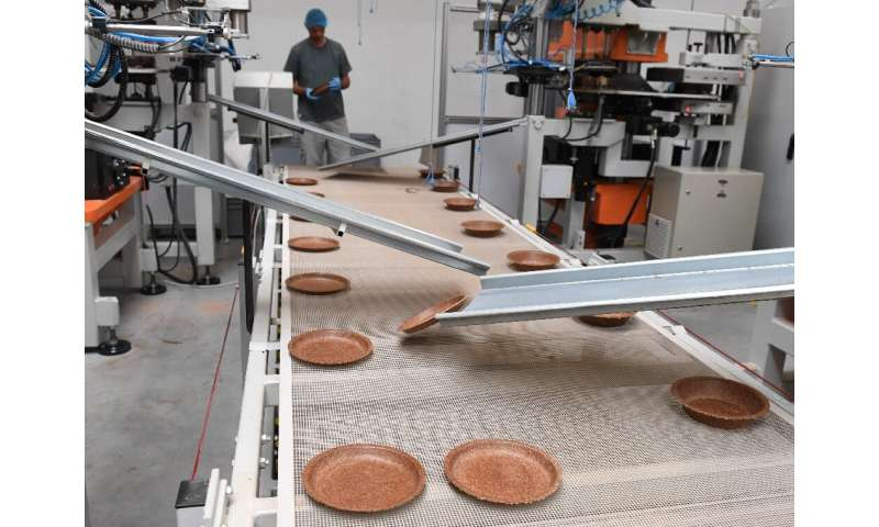 Biotrem makes about 15 million of the wheat bran plates annually