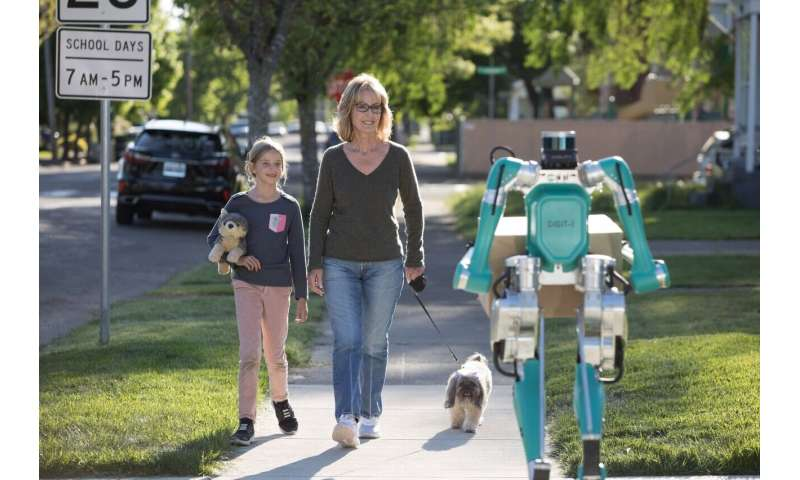 Bipedal robot Digit seen as final step in autonomous delivery system