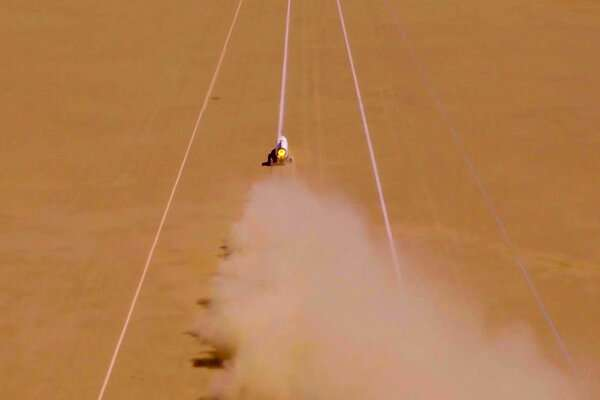 Bloodhound's 461-mph speed is big but team eyes bigger record ahead