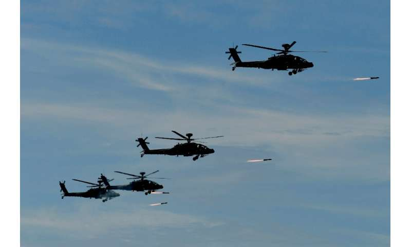 Boeing produces a variety of aircraft including the Apache attack helicopter