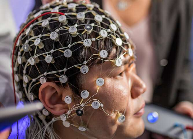 Brain stimulation improves depression symptoms, restores brain waves in clinical study
