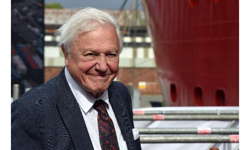 "Britain's Sir David Attenborough said ""all is not lost"""