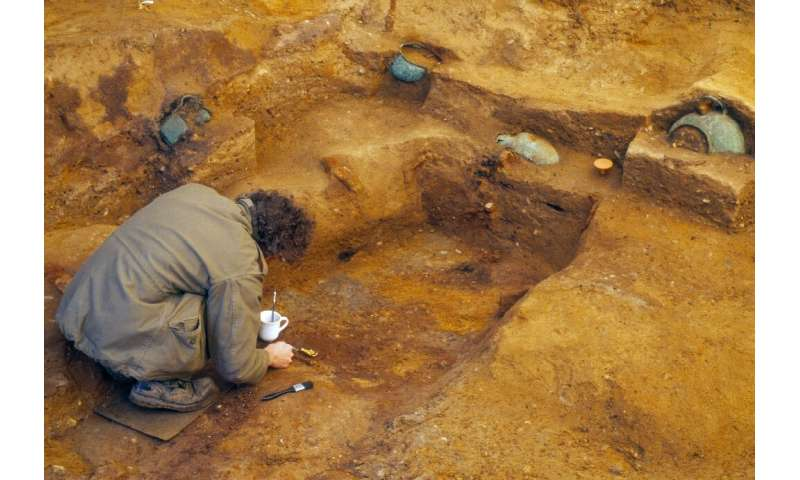 British researchers have stumbled onto an Anglo-Saxon burial chamber of a prince whose likes have never before been found in the