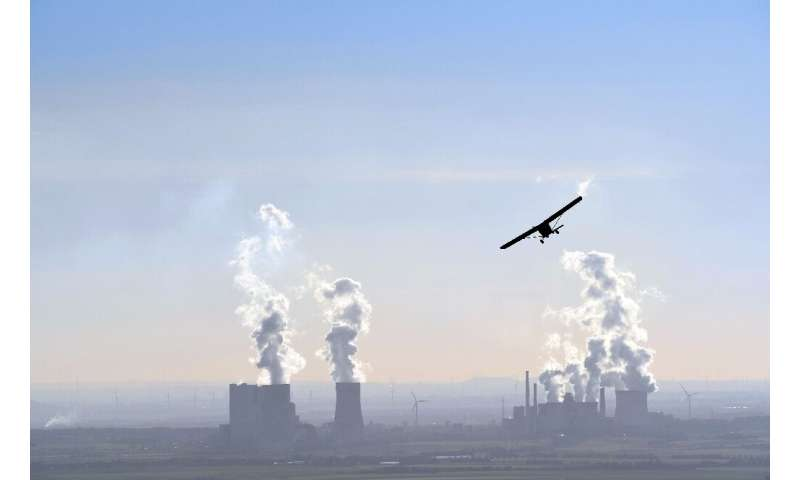 """Brown coal plants such as the one in Dormagen, western Germany, """"laid the foundations"""" for power giant RWE"""