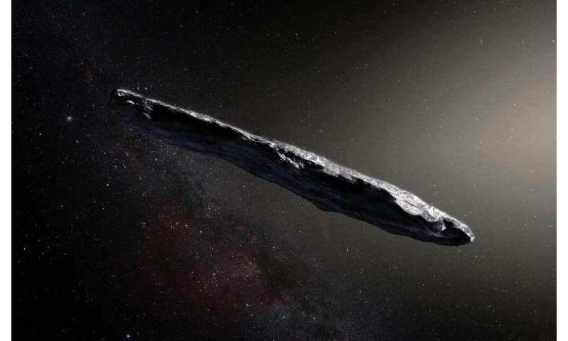 By continuously watching the moon, we could detect interstellar meteorites