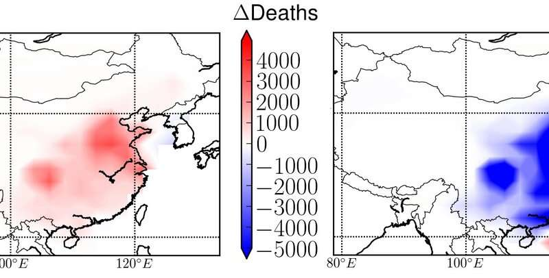 By cutting ozone pollution now, China could save 330,000 lives by 2050