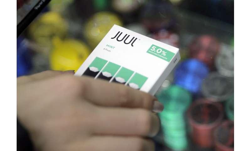 California sues e-cigarette maker Juul over ads and sales