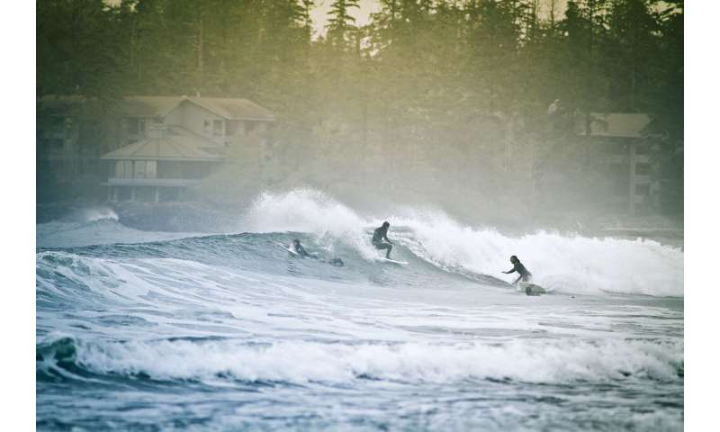 Canada's west coast surf culture downplays concussion risk