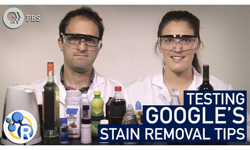 Can Google help you get the stains out? (video)