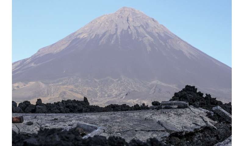 Cape Verde's Pico do Fogo volcano brings tourists and income to the people of the Cha das Caldeiras valley