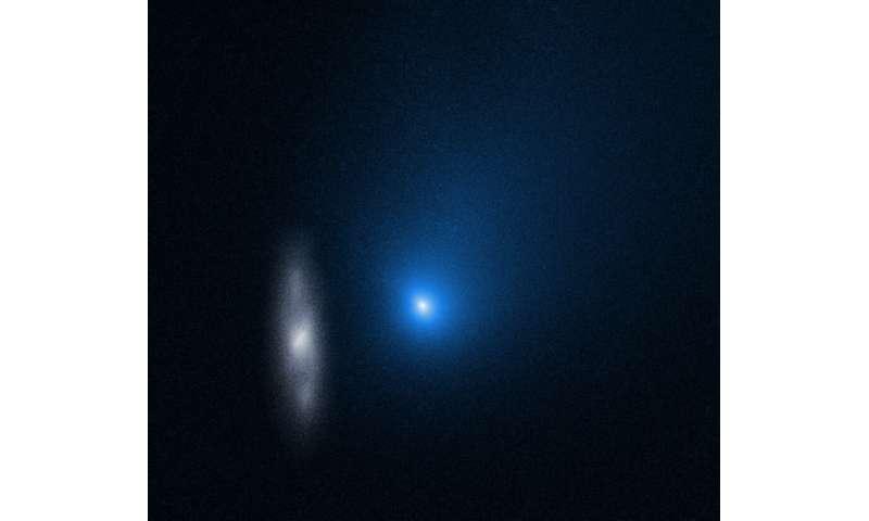 Capturing alien comets